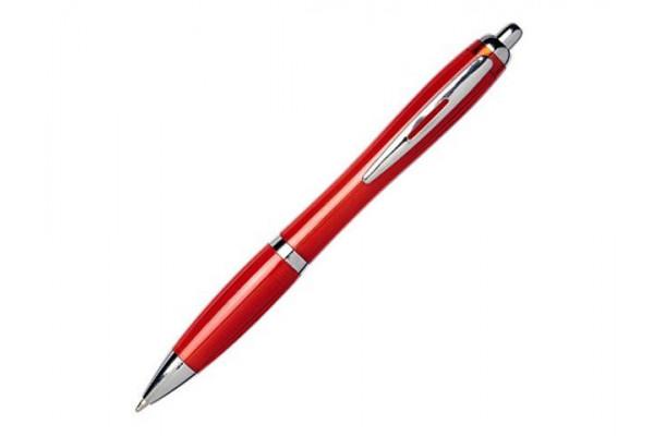 Шариковая ручка Nash из переработанного ПЭТ-пластика, красный