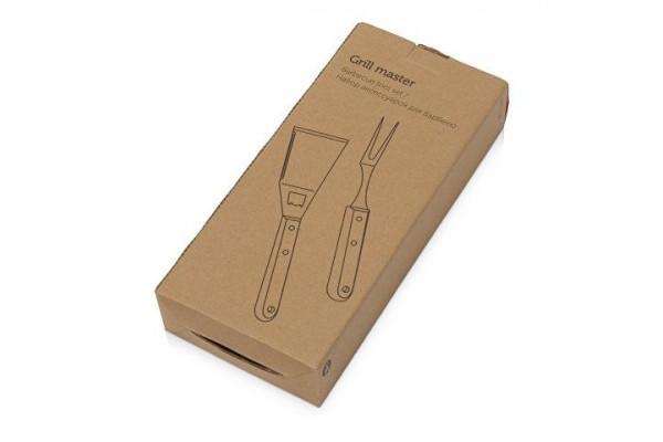 Набор BBQ Grill Master из двух приборов с деревянными ручками