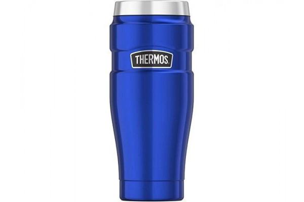 Кружка-термос из нерж. стали тм THERMOS SK1005BL 0.47L, синий