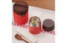 Термос из нерж. стали для еды тм THERMOS JBQ-400-PCH 0.4L, красный