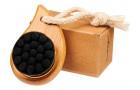 Щетка из бамбука Plato для лица, черный