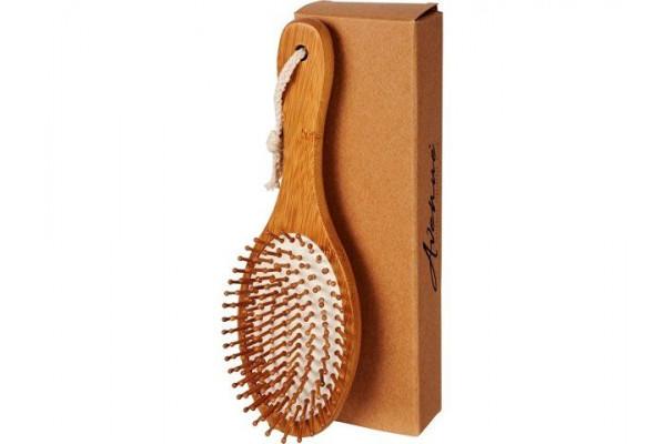 Массажная щетка для волос Cyril из бамбука, натуральный