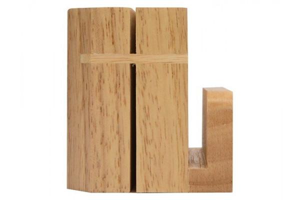 Набор для сыра Cheese Break: 2  ножа керамических на  деревянной подставке, керамическая доска