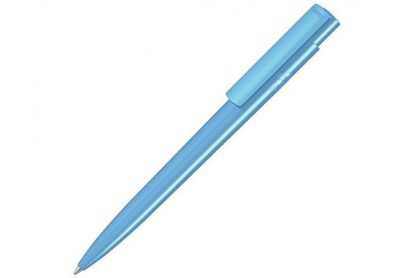 Антибактериальная шариковая ручка RECYCLED PET PEN PRO antibacterial, голубой