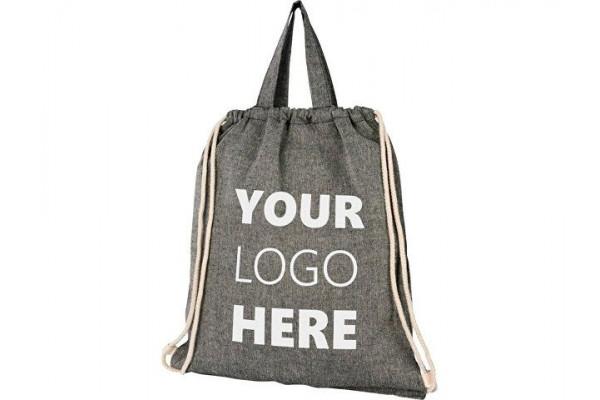 Be Inspired 150 g/m² рюкзак из переработанного хлопка, heather black
