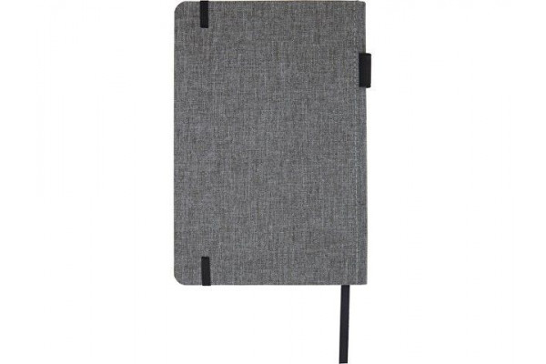 Блокнот Orin, формат А5, из переработанного ПЭТ, серый яркий