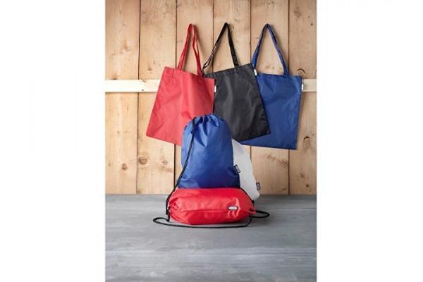 Эко-сумка Sai из переработанных пластиковых бутылок, красный