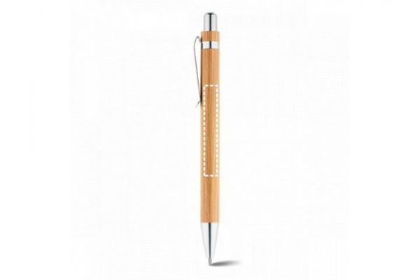 HERA. Шариковая ручка из бамбука, Натуральный