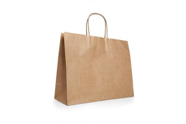 KIRA. Пакет из крафт-бумаги, Натуральный