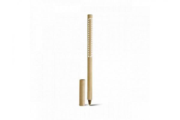 RECICLA. Шариковая ручка из крафт-бумаги, Натуральный светлый