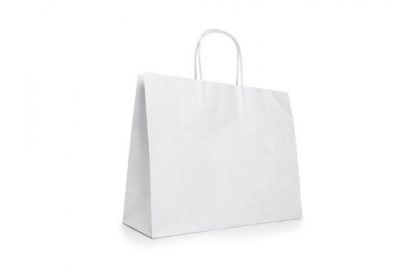 KELLY. Пакет из крафт-бумаги, Белый