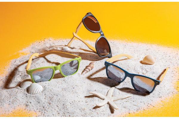 Солнцезащитные очки Wheat straw с бамбуковыми дужками