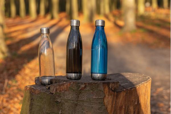 Герметичная бутылка для воды с крышкой из нержавеющей стали