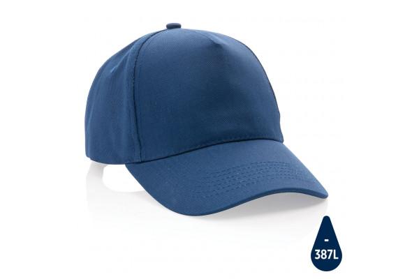 Бейсболка Impact из переработанного хлопка AWARE™, 5 клиньев, 280 г/м2