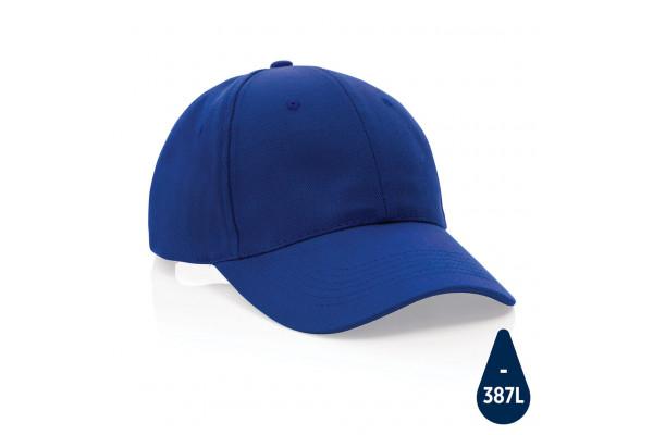 Бейсболка Impact из переработанного хлопка AWARE™, 6 клиньев, 280 г/м2