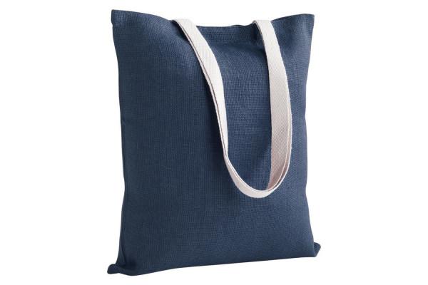 Холщовая сумка на плечо Juhu, синяя