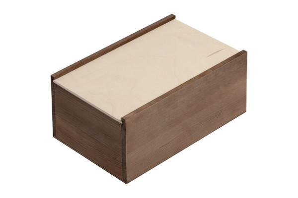Деревянный ящик Boxy, малый, тонированный