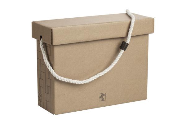 Коробка Very Marque, малая, крафт