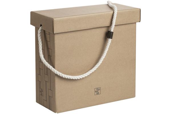 Коробка Very Marque, большая, крафт