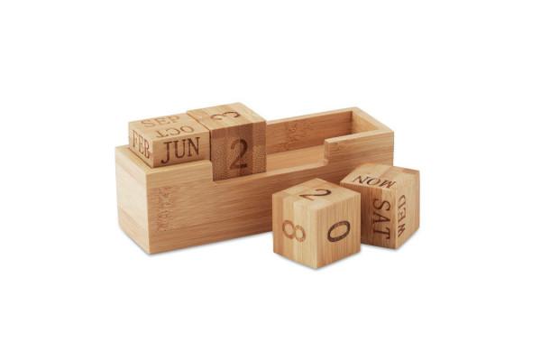 Календарь бамбуковый