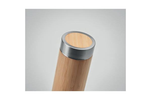 Термос декорированый бамбуком