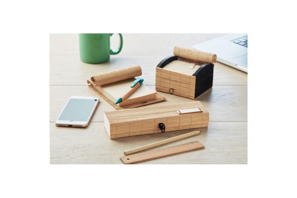 Канцелярский набор из бамбука