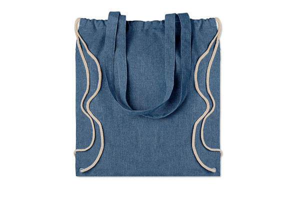 Рюкзак на шнурках из переработа