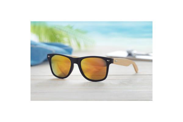 Очки солнцезащитные с бамбуковы
