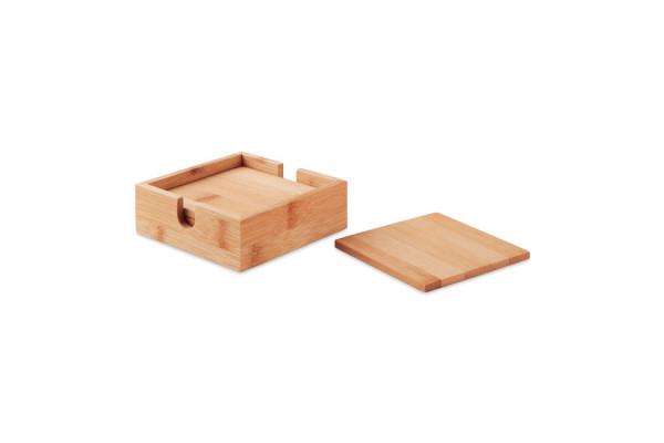 Набор костеров из бамбука