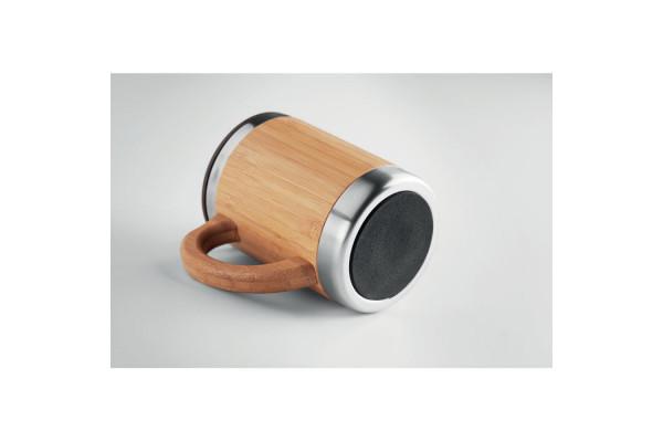 Термуокружка с бамбуком