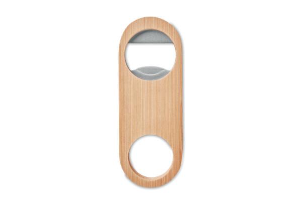Открывалка метал с бамбуком