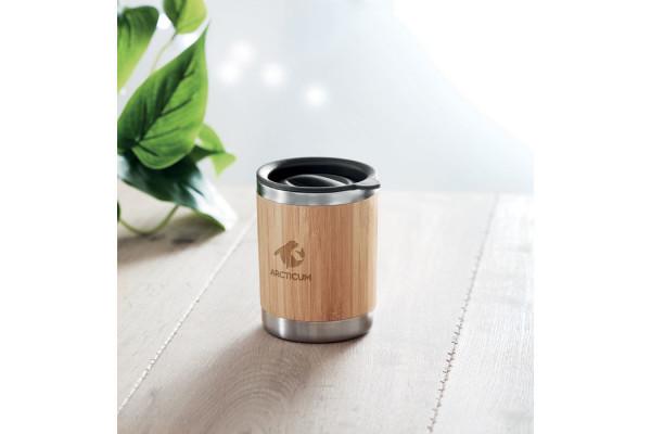 Термокружка с бамбуком