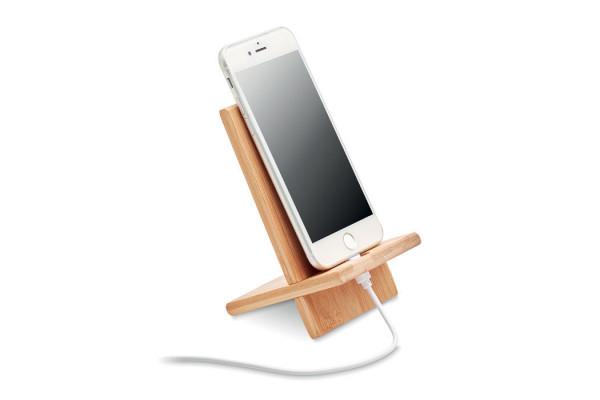 Подставка для телефона бамбук