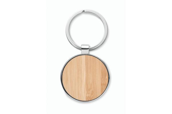 Брелок круглый бамбук