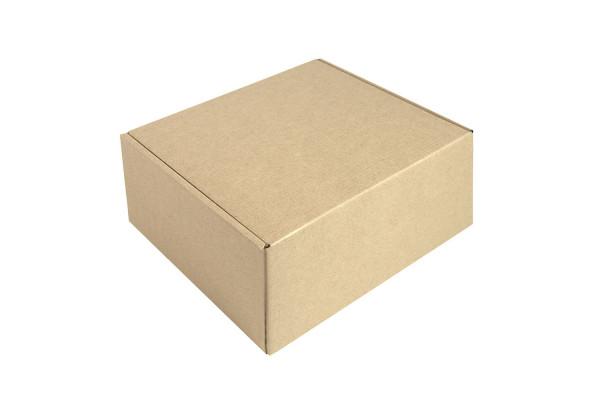Коробка подарочная Big BOX, размер 24*21*11 см, картон МГК бур., самосборная