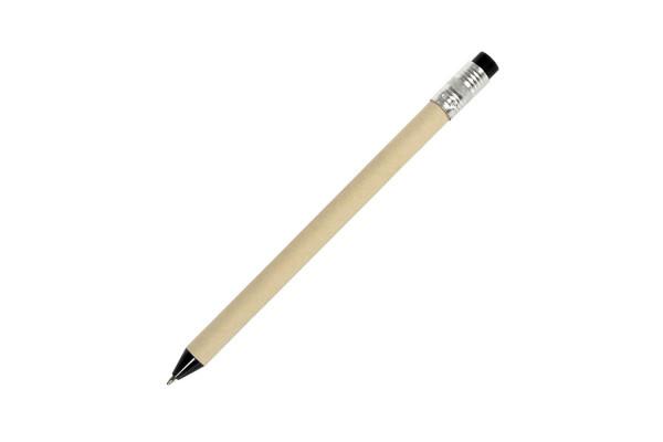 N12, ручка шариковая, черный, картон, пластик, металл