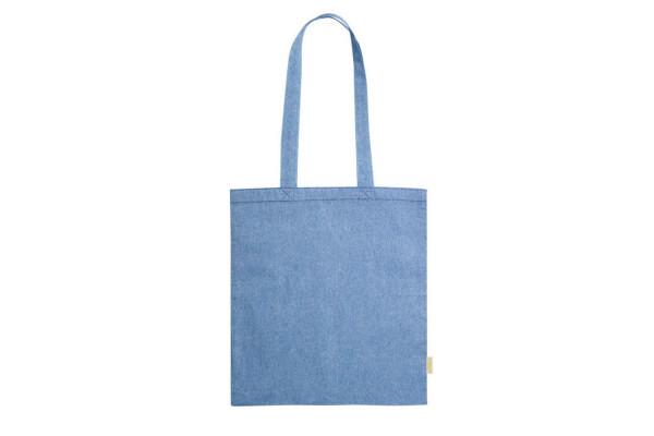 Сумка для покупок GRAKET, синий, 42x38 см, 100% переработанный  хлопок, 120 г/м2