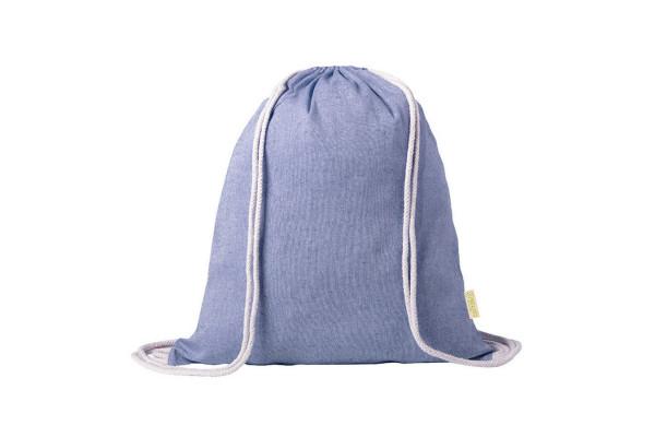 Рюкзак Konim, синий, 42x38 см, 100% переработанный хлопок, 120 г/м2