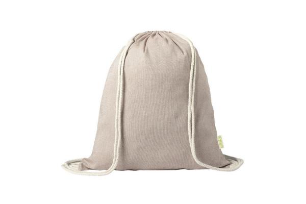 Рюкзак KONIM, бежевый, 42x38 см, 100% переработанный хлопок, 120 г/м2
