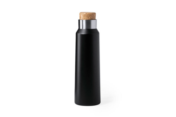 Бутылка для воды ANUKIN, черный, 770 мл, нержавеющая сталь