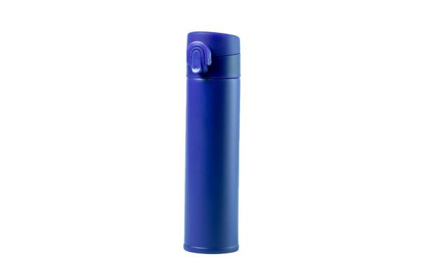 Термос вакуумный POLTAX, 330мл, синий, нержавеющая сталь
