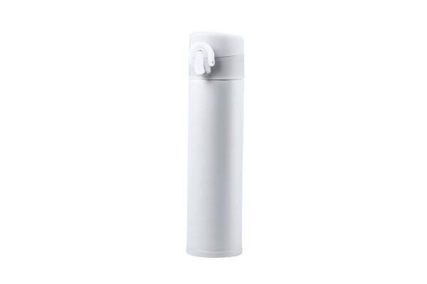 Термос вакуумный POLTAX, 330мл, белый, нержавеющая сталь