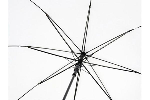 23-дюймовый автоматический зонт Alina из переработанного ПЭТ-пластика, белый