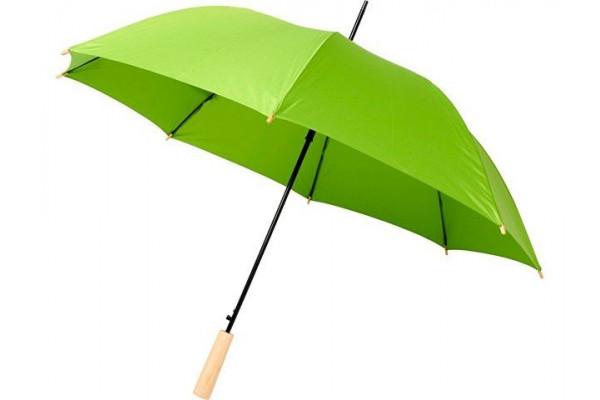 23-дюймовый автоматический зонт Alina из переработанного ПЭТ-пластика, лайм