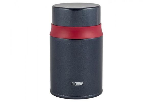 Термос из нерж.стали в комплекте с ложкой тм THERMOS TCLD-520S, синий