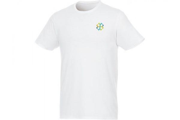 Мужская футболка Jade из переработанных материалов с коротким рукавом, белый