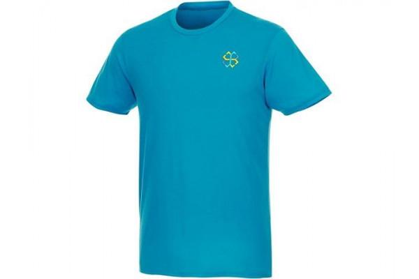 Мужская футболка Jade из переработанных материалов с коротким рукавом, nxt blue