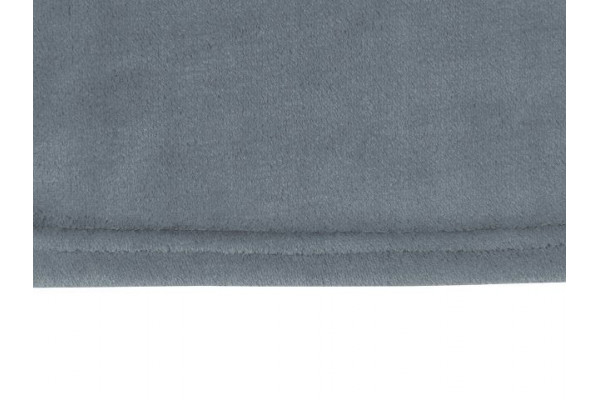 Плед флисовый Natty из переработанного пластика, серый