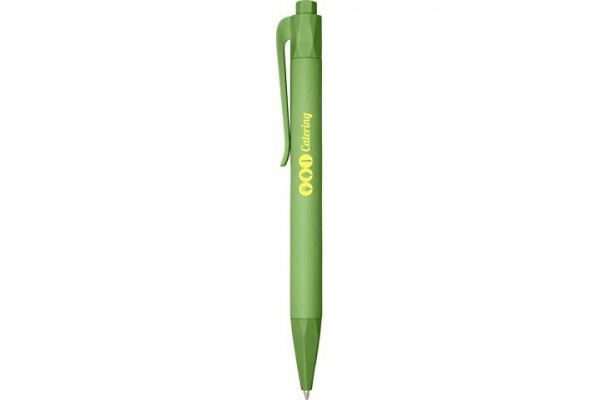 Шариковая ручка Terra из кукурузного пластика, moss green