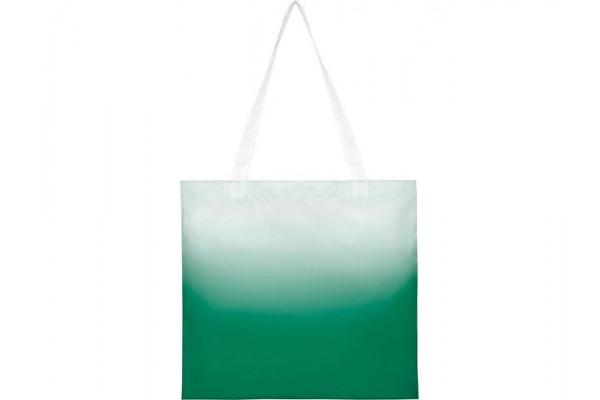 Эко-сумка Rio с плавным переходом цветов, зеленый